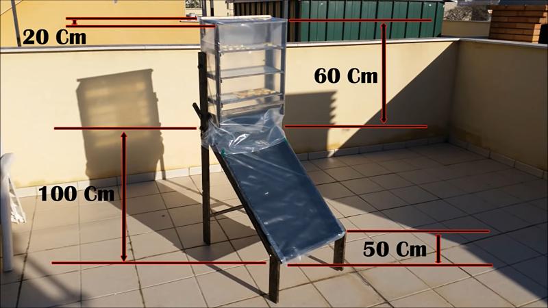 Deshidratador de alimentos solar casero